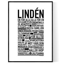 Lindén Poster