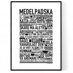 Medelpadska Poster