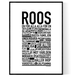 Roos Poster
