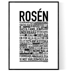 Rosén Poster