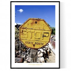 State Route Poster