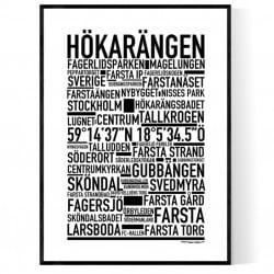 Hökarängen Poster
