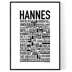 Hannes Poster