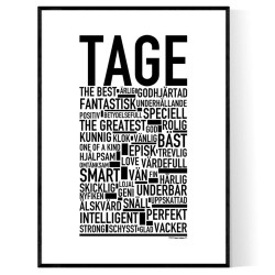 Tage Poster