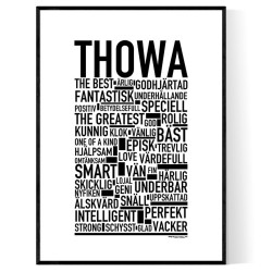 Thowa Poster