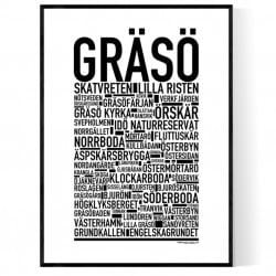 Gräsö Poster