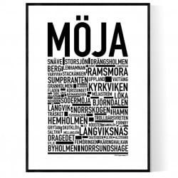 Möja Poster