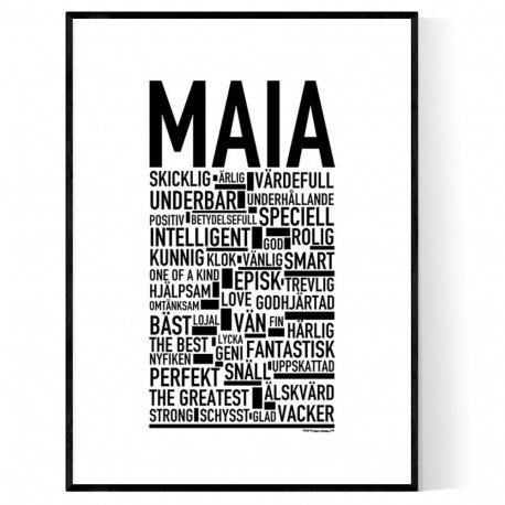Maia Poster