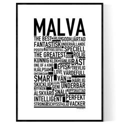 Malva Poster