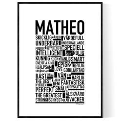 Matheo Poster