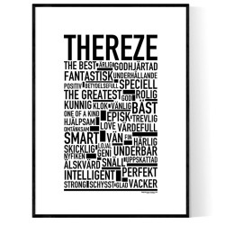 Thereze Poster