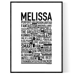 Melissa Poster