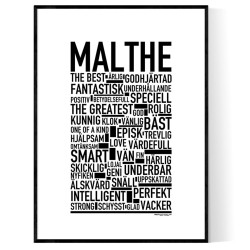 Malthe Poster