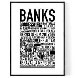 Banks Poster