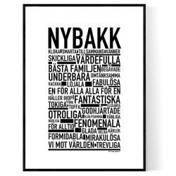 Nybakk Poster