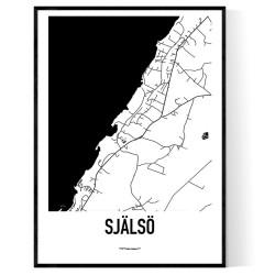 Själsö Karta
