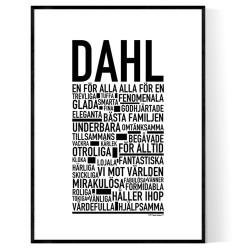 Dahl Poster