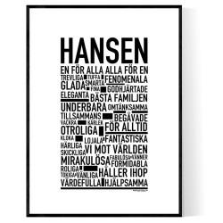 Hansen Poster