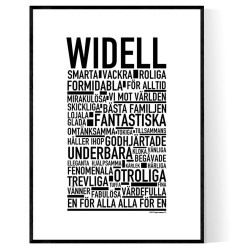 Widell Poster