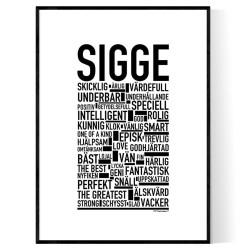 Sigge Poster