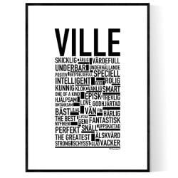 Ville Poster