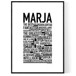Marja Poster