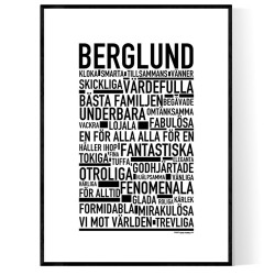 Berglund Poster