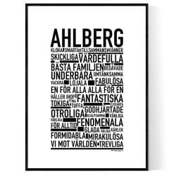 Ahlberg Poster
