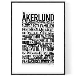 Åkerlund Poster