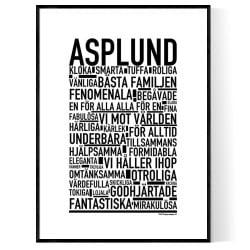 Asplund Poster