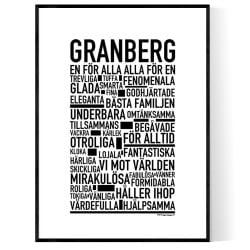 Granberg Poster