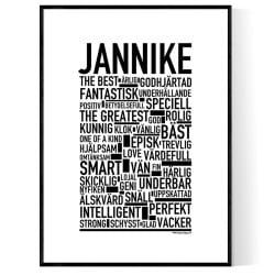 Jannike Poster