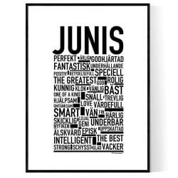 Junis Poster