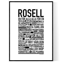 Rosell Poster