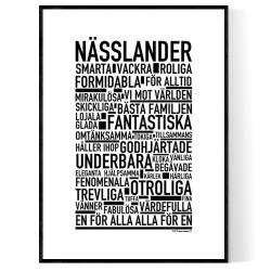 Nässlander Poster