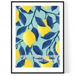 Make Lemonade Poster