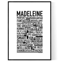 Madeleine Poster