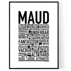 Maud Poster