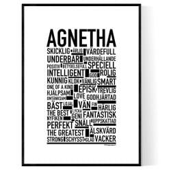 Agnetha Poster