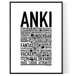 Anki Poster
