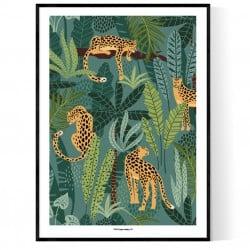 Djungle Animal Poster