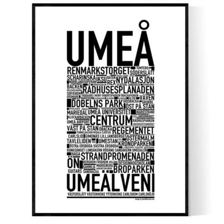 Umeå Poster