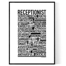 Receptionist Poster