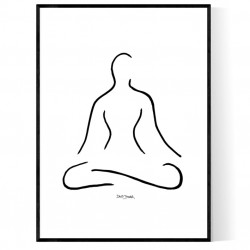 Relaxed Figure Poster