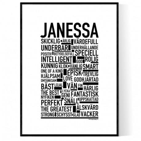Janessa Poster