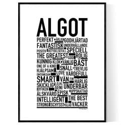 Algot Poster