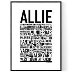 Allie Poster