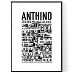 Anthino Poster