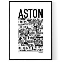 Aston Poster
