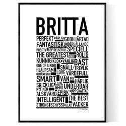 Britta Poster